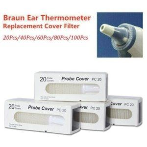 Other - 100 For Braun Probe Covers Thermoscan Replacement